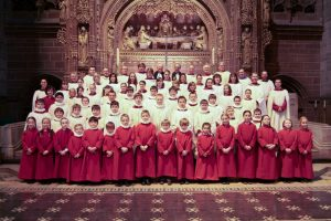 Liverpool cathedal choir - all and staff