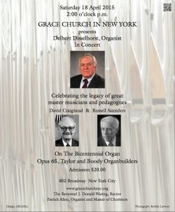 Organ Poster 180415