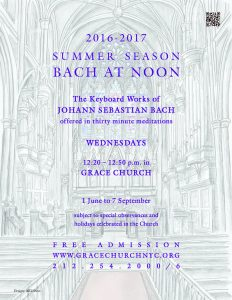 Summer Bach at noon Poster 16-17