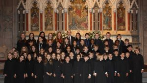 Junior Choristers from The Choir of Men and Boys and The Girls' Choir,  2014 - 2015