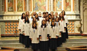 senior choristers 2015