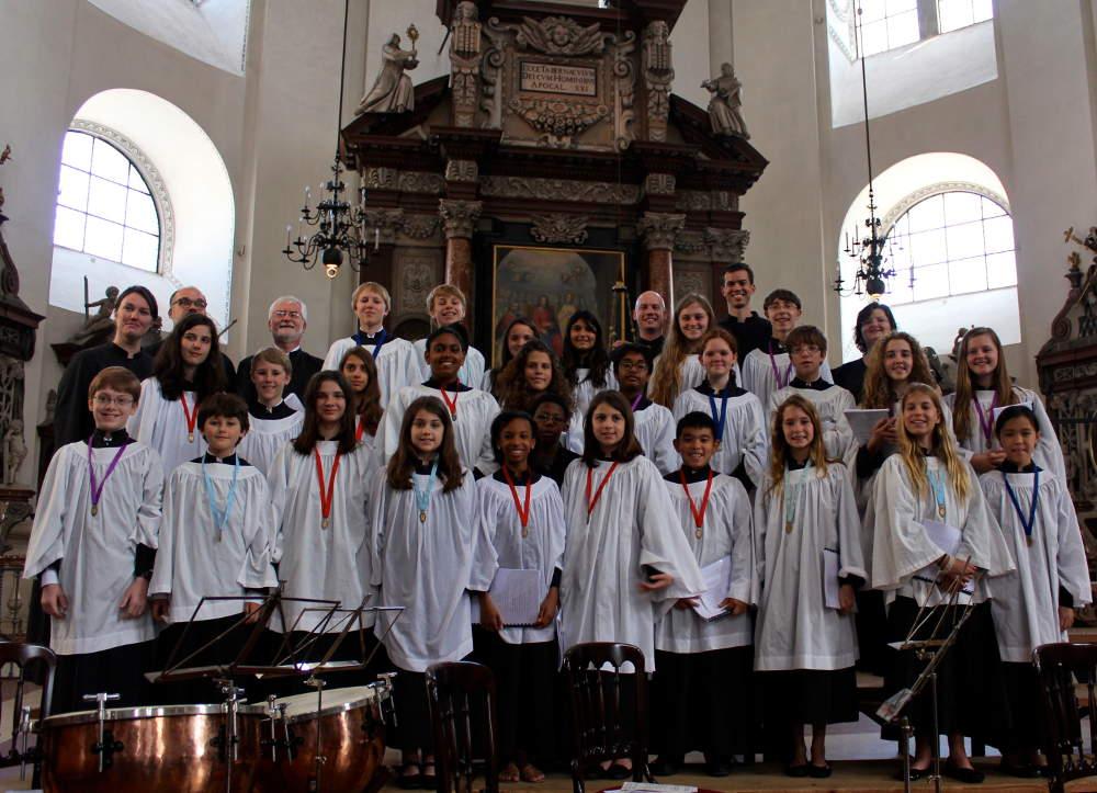 choir salzburg dom